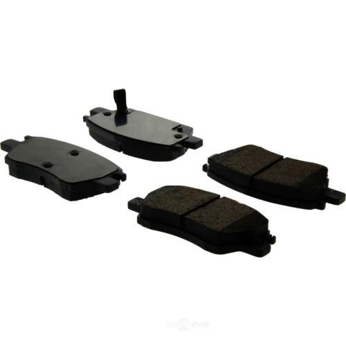 Disc Brake Pad Set-Premium Ceramic Pads w//Shims /& Hardware Front Centric