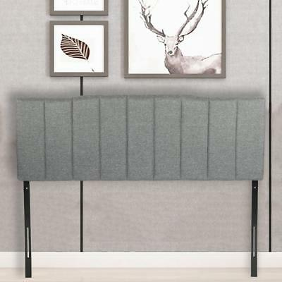 Headboard Fabric Upholstered Full/Queen Size Headboard With Heavy Duty Gray for sale  Duluth