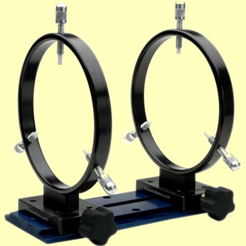 Farpoint 160mm Mounting Rings with Losmandy Dovetail (Set of 2) Telescsope