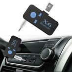 Auto USB Bluetooth Audio Receiver Adapter 3.5mm Jack Aux