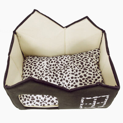 Pet Dog Cat Bed House Kennel Doggy Puppy Warm Cushion Basket Pad Wonderful Gift