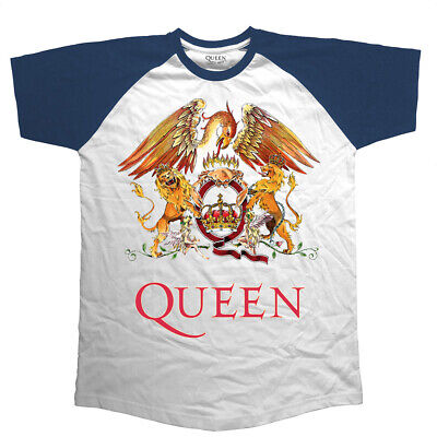 QUEEN XL ORIGINAL CREST RAGLAN 100% SOFT COTTON TEE