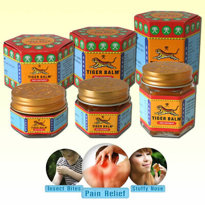 6 X BEST TIGER BALM RED 21 ml muscle aches pain relief ointment massage