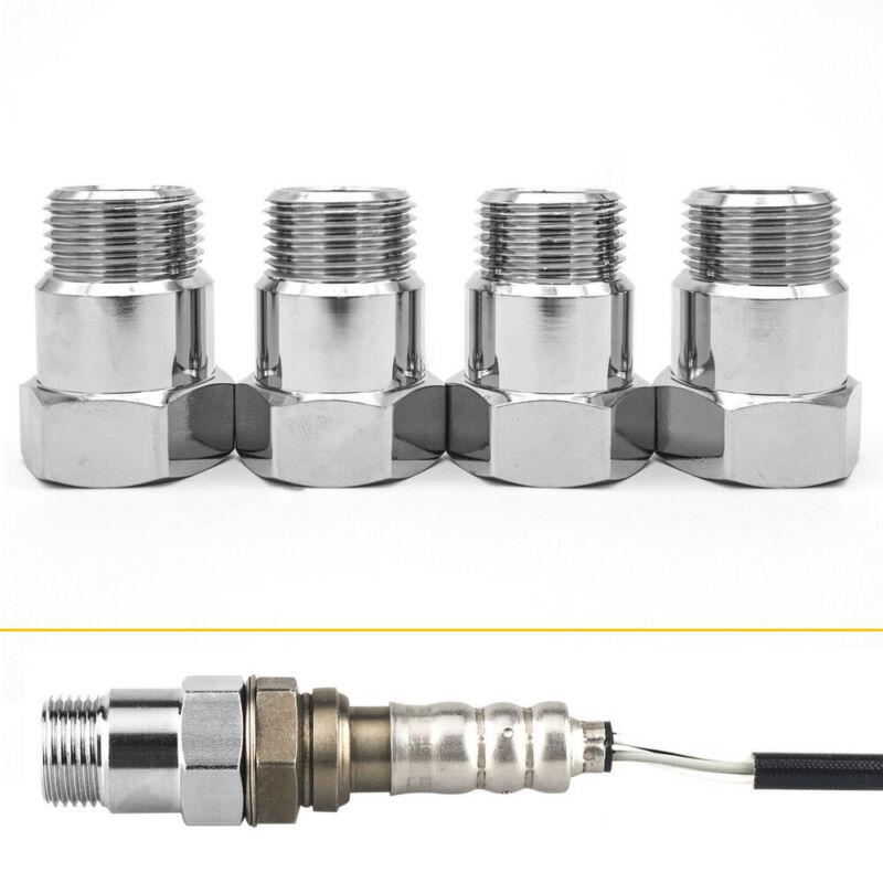 4x O2 Oxygen Sensor Extender Spacer Adapter M18x1.5 Cel Fix Check Engine Lights