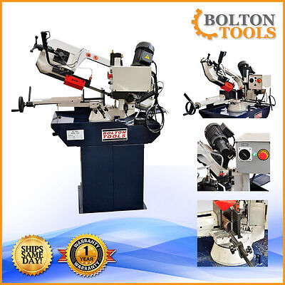Bolton Tools 8 58 X 10 Horizontal Band Saw Metal Cutting Bs-280g