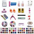 Nailart set met 500 tips - Acryl - Starterset - Gelnagels -