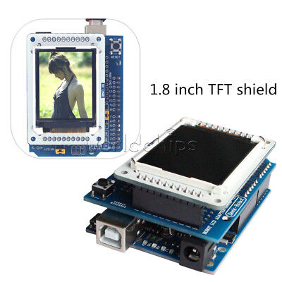 1.8 Inch Tft Lcd Shiled Adapter Board For Arduino Uno R3 Tftlcd Display Ide
