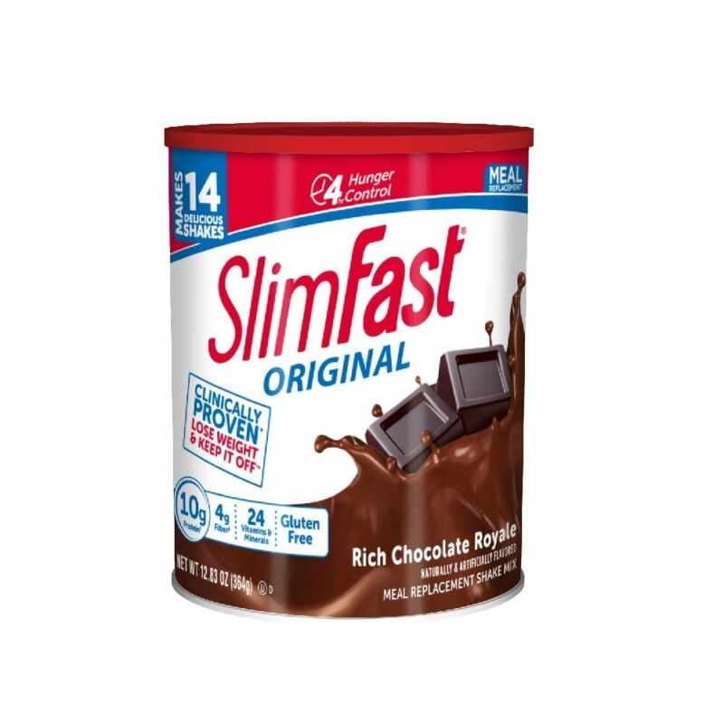 SlimFast Original Rich Chocolate Royale Meal Shake Mix Weigh