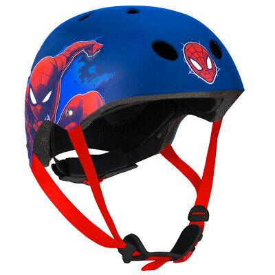 Neu Stamp Spider-Man Skaterhelm Gr 54-60 cm 6664257 blau//rot