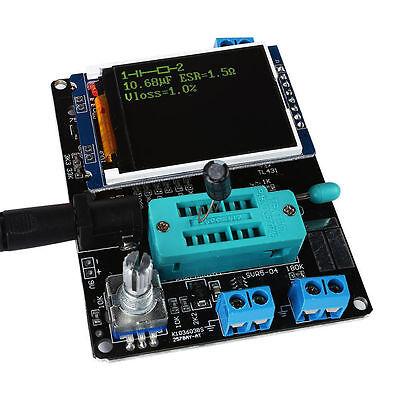 Transistor Tester Lcr Diode Capacitance Esr Meter Signal Generator Mos Triode