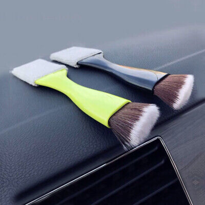 1x Car Air Vent Dash Dust Brush Detail Detailing Brush Cleaning Tool...