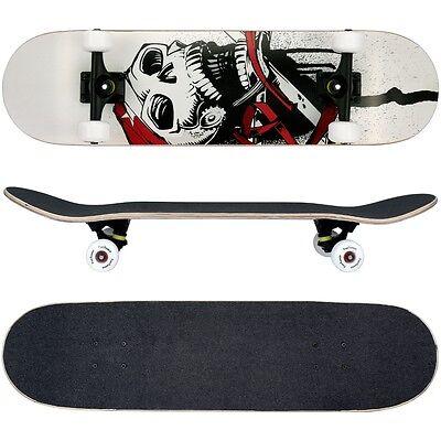 FunTomia® Skateboard aus Kanada Ahornholz ABEC-11 Kugellager & 100A Rollen 1914 ()