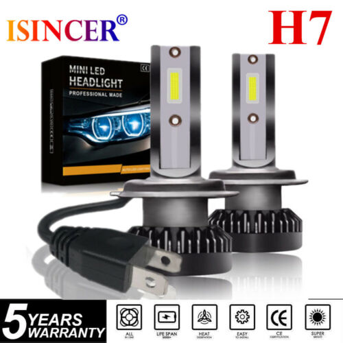 H7 All in One  100W 10000LM CREE LED Headlight High Beam Bulbs 6000K White