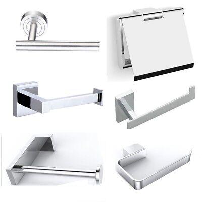 Chrom Wc Papier Halter (Toilettenpapierhalter Design Papierrollenhalter WC Rollenhalter Chrom  Edelstahl)