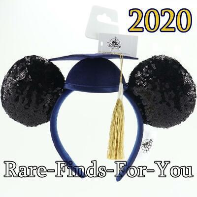 Minnie Mouse Ears Adult (Disney Parks Minnie Mickey Mouse Ears Graduation Class of 2020 Headband)