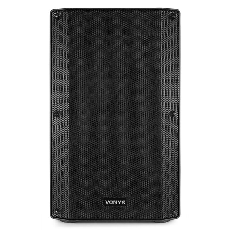Vonyx 170.374 VSA15BT Bi-Amplified Active Speaker 15 inch 1000W BT/MP3