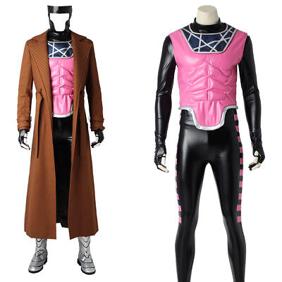 Gambit Costume Halloween (X-Men Remy Etienne LeBeau Gambit Superhero Costume Cosplay Halloween Costume)