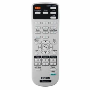 Genuine Epson Projector Remote 156609000 (1751, 1761W, 1771W,1776W)