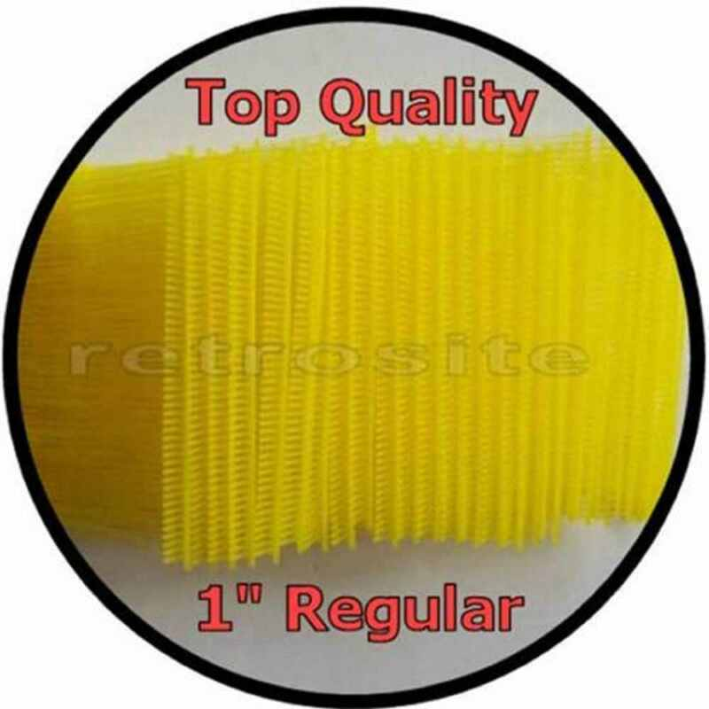 "1000 YELLOW Price Tag Tagging Gun 1""(1inch) REGULAR Barbs Fasteners TOP QUALITY"