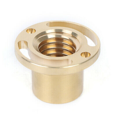 2pc 1 Kit Copper Milling Machine Xy Axis Copper Sleeve 32mm Diameter Pitch 5mm