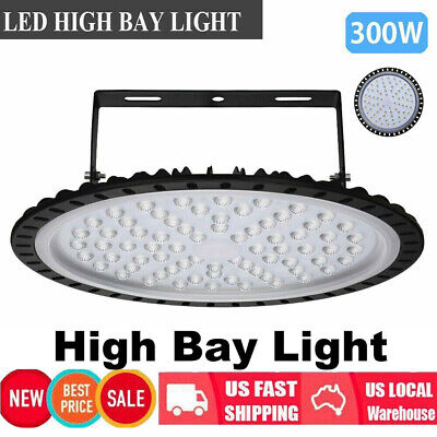 300w Lighting Ufo Led High Bay Light Industrial Warehouse Work Mining Lamp