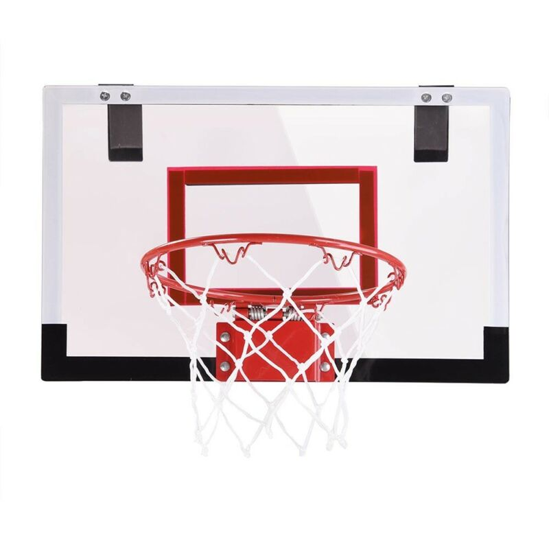 Mini Basketball Hoop System Indoor Outdoor Home Office Wall ...