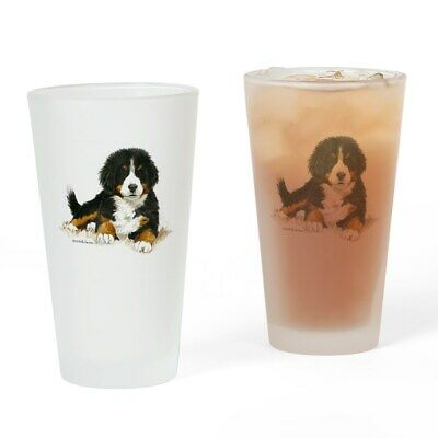 CafePress Bernese Mountain Dog Bright Eyes Drinking Glass (960043438) ()