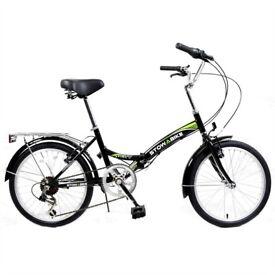 """Stowabike 20"""" Folding City V2 Compact Foldable Bike –Shimano Gears"""
