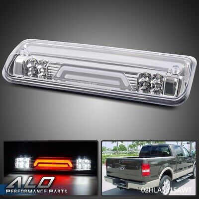 For 2004-2008 FORD F150 3D LED Bar 3rd Third Brake Stop Light Cargo Lamp clear