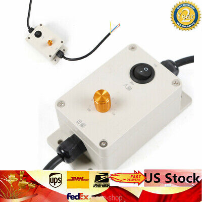 Ac Vibration Motor Governor Speed Controller Adjustable Speed Control 220v110v