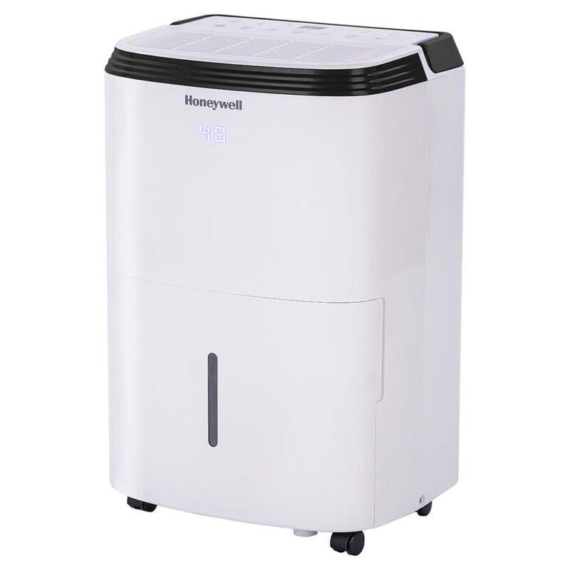 Honeywell TP70PWK 70 Pint Whole Home Dehumidifier, White (Refurbished)