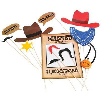 Cowboy Photo Booth Costume Prop Western Party  ....................2 Sets