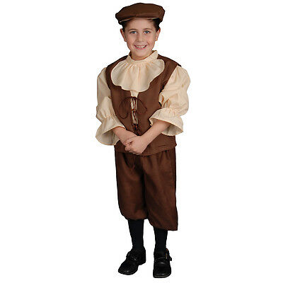 Dress up America Colonial Children's Costume For Boys (Colonial Dresses For Kids)