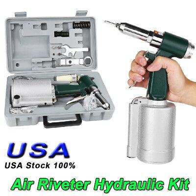 Pneumatic Air Riveter 316 Capacity Pop Rivet Gun Kit 532 18 332