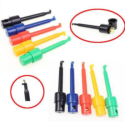 10pcs Wire Kit Test Hook Clip Grabbers Probe For Multimeter Arduino Smtsmd Us
