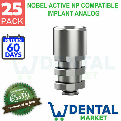 X 25 Nobel Active Np Compatible Implant Analog