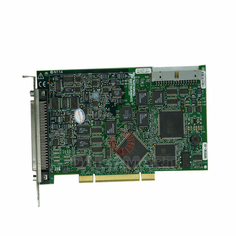 Used & Tested NATIONAL INSTRUMENTS NI PCI-6025E Data Acquisition Card