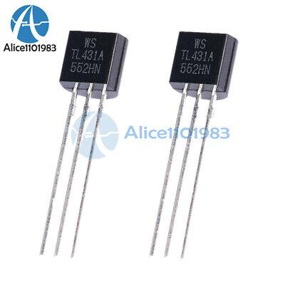 50pcs Tl431a Tl431 431 Precision Shunt Regulators To-92 Best