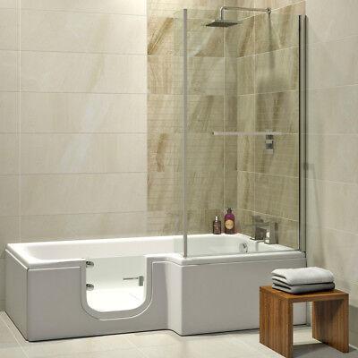 Solarna Badewanne mit Tür/Seniorenbadewanne 170x85/70cm, rechts