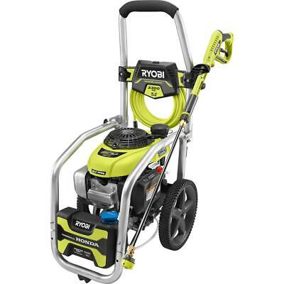 Ryobi 3300 Psi 2.3 Gpm Cold Water Gas Pressure Washer W Honda Gcv190 Idle Down