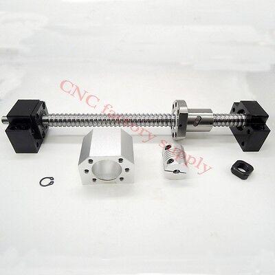 Sfu1605 Set Ball Screw Rolled Ballscrew With Nut Bk12bf12coupler