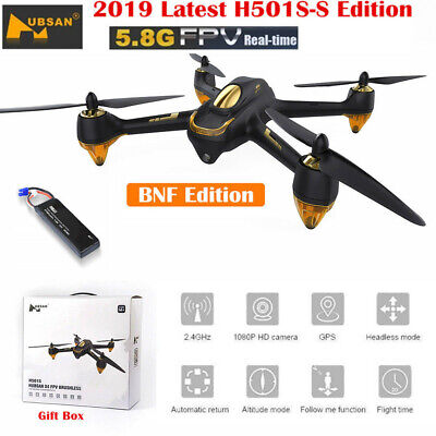 Hubsan H501S S PRO Drone FPV Live Video Brushless 1080P Quadcopter GPS BNF, USA
