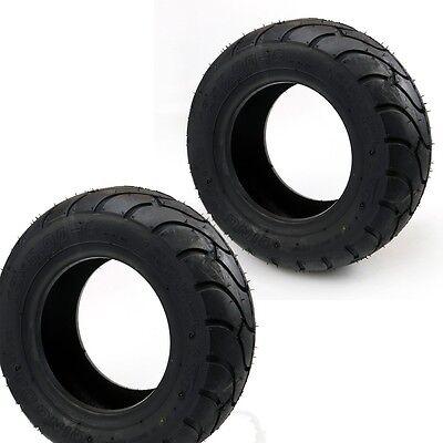 2pcs 13x5.00-6 Tyre Tire Tubeless For MINI POCKET SCOOTER GO KART MINI ATV BIKE (Mini Atv Tires)