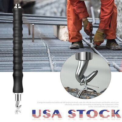 Rebar Hook Tie Wire Twister Automatic Concrete Metal Twisting Fence Tools 300mm ()
