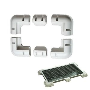 SOLAR PANEL CORNER CABLE MOUNTING BRACKET ENTRY MOTORHOME CARAVAN Hope Valley Tea Tree Gully Area Preview