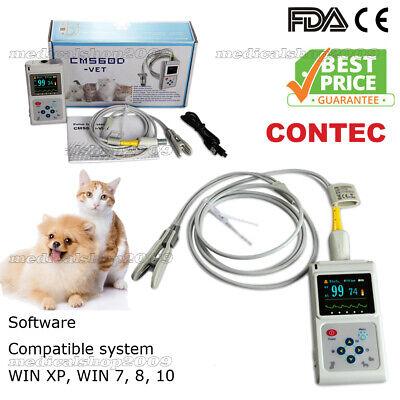Veterinary Pulse Oximeter Handheld Spo2 Pr Monitor Vet Tongue Probesw