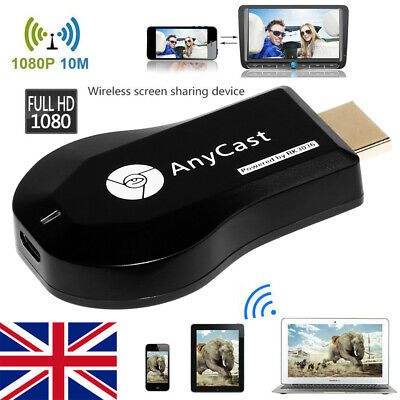 1080P HD Chromecast 2nd Generation HDMI Media Video Digital Streamer Dongle UK