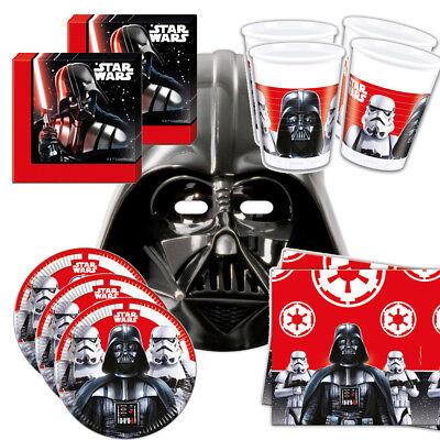 eburtstag Party Set Mega Auswahl     (Darth Vader Geburtstag)