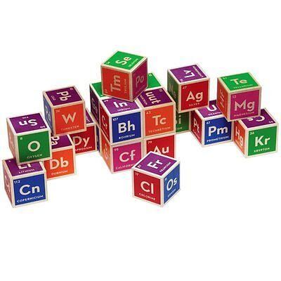 Periodic Table Blocks (Uncle Goose Elemental Periodic Table Wooden Blocks)