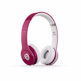 Beats Solo HD Wired On-Ear Headphone - Pink (Discontinued by Manufacturer)